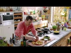 S01E17 Jamies 15 Minute Meals.Greek.chicken.and.smoked.salmon.mkv