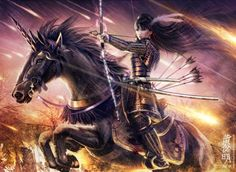 otako naoko female samurai fantasy art illustration created for legend of five rings by digital artist mario wibisono on gods of art Fantasy Warrior, Fantasy Girl, Dark Warrior, 3d Fantasy, Fantasy Kunst, Fantasy Artwork, Woman Warrior, Final Fantasy, Amaterasu