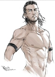 Fantasy Character Design, Character Drawing, Character Inspiration, Fantasy Male, Final Fantasy Xv, Drawing Poses Male, Art Of Man, Anatomy Art, How To Draw Hair