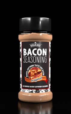 Bacon Seasoning - Make ANYTHING Taste Like Bacon! Also Vegan, No MSG, Makes food delicious, Easy to use, Allergen free, including gluten and dairy free