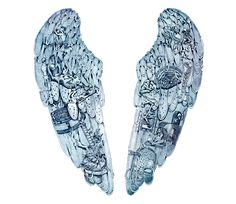 What do the images in the angel wings signify? : Coldplay - What do the images in the angel wings signify? : Coldplay You are in the right place about What do - Coldplay Tattoo, Coldplay Magic, New Tattoos, I Tattoo, Tatoos, Coldplay Wallpaper, Coldplay Ghost Stories, Story Tattoo, Tattoo Ideas