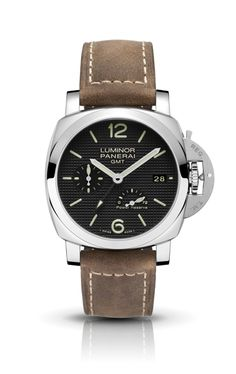 OFFICINE PANERAI - LUMINOR 1950 3 DAYS GMT POWER RESERVE AUTOMATIC ACCIAIO PAM00537