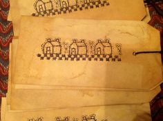 Paper tags.....ofgfaap by hootnanniesbyjeanne on Etsy, $2.50