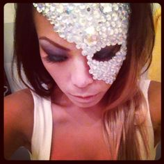DIY masquerade mask - Halloween 13