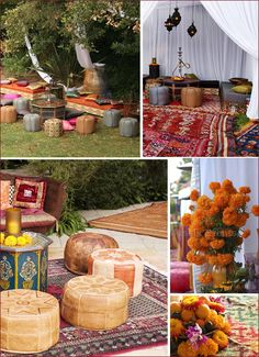 moroccan-themed wedding - please invite me if you ever to go to a wedding like this. It's on my bucket list!
