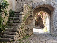 Balazuc, Ardèche, France