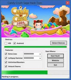 Candy crush saga hack tool no survey free download now. No password and no stupid offers required for this candy crush saga hack. You can easily get