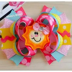 New Happy Sunshine Boutique Bow!