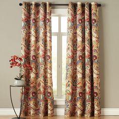 Vibrant Paisley Curtain