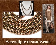 Serendipitytreasure.com  #etsy shop: Woven copper Bead necklace - shiny brown glass bead - rope style - 48 inches https://etsy.me/2JwaIug #jewelry #necklace #brown #glass #wovenbeadnecklace #serendipitytreasure #vintagejewelry #wovenbead #ropenecklace
