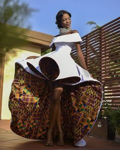 Kente Fabric Designs: See These Kente Styles For Fashionable Ladies - Lab Africa Best African Dresses, African Wedding Dress, Latest African Fashion Dresses, African Print Fashion, African Attire, Africa Fashion, African Prints, Ankara Fashion, African Traditional Wedding
