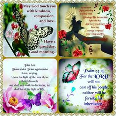 Morning Blessings, Good Morning Wishes, Morning Messages, Good Morning Quotes, Scripture Verses, Bible Scriptures, Bible 2, Christian Pictures, Christian Quotes