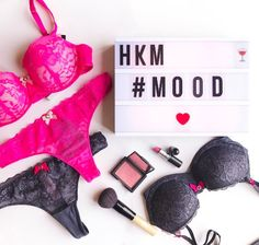 Daily musthaves! #ootd #bra #lingerie #pink #hunkemöller #fashion #makeup #cosmetics @askthestylecouncil