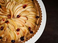 Cranberry Apple Nut Tart