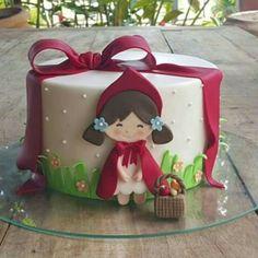 #Caperucita #roja #cake