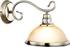 Wandlampe Wandleuchte Leselampe Messing Leseleuchte Nostalgie Globo 6905-1W