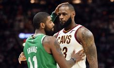 Celtics star Kyrie Irving says he is looking forward to reuniting with former Cavaliers teammates LeBron James and Kevin Love at All-Star Weekend. James Harden, Leadership, Cheap Sports Cars, 2017 Acura Nsx, Nba Cleveland, Dwyane Wade, Indiana Pacers, Nba News, Nba Playoffs