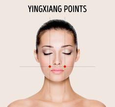Les Points De Yingxiang Ils sont situés au niveau de la cavité nasale, à la jonction de l'os nasal et du cartilage nasal.Vous devez simplement trouver la fossette sur le bas de la pommette. Appliquez ensuite une pression ferme et massez.Cela vous aidera à vous débarrasser du stress qui vous ronge.
