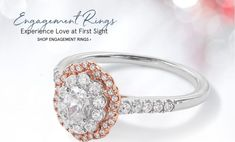 34 Rose Gold Wedding Rings For The Romantic Bride-to-Be - Landlikes Sites Wedding Rings Rose Gold, Wedding Rings Vintage, Rose Wedding, Gold Rings, Unique Rings, Beautiful Rings, Shop Engagement Rings, Princess Cut Diamonds, Simple Necklace