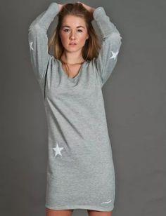 La Sweatdress Etoile - Grey Melange