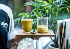 Forget chai lattes; this winter it's all about matcha, turmeric and raspberry dust.