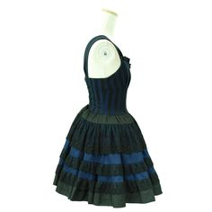 "Sheglit ""quartet"" Dress navy"