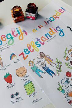 NIEUW: Tafelposter A4 of A3 formaat ★ In het dagelijks leven werk ik in het onderwijs als groepsleerkracht en intern begeleider. Ik kom regelmatig onderwerpen tegen waar de leerlingen wel een geheu…