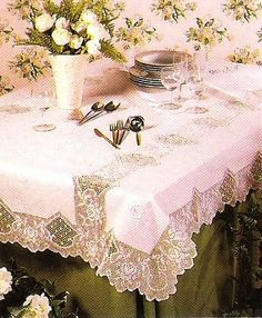Tablecloth crochet (1/2)