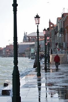 Walking in Venice - I would be happy walking these streets no matter what the weather! #monogramsvacation