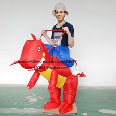T-Rex Dino Rider Suit Purim Halloween Christmas Party Costumes Adult Kids red dragon Fancy Dress Inflatable Dinosaur Costume