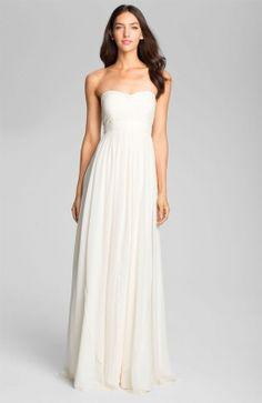WHITE CHIFFON DRESS - Gunda Daras