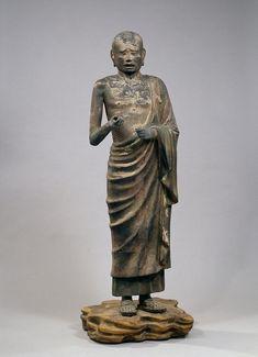 国宝 迦旃延像 734年 撮影:金井杜道 (c)興福寺