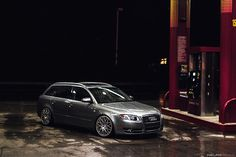 Audi A4 Avant on Rotiform wheels.