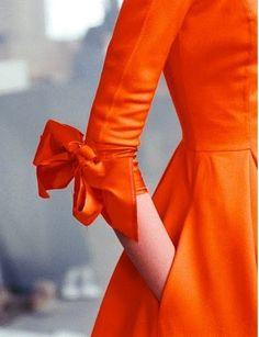 Orange Dress :)