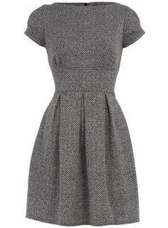 Classic Tweed Dress in Fashion