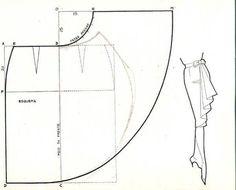 skirt pattern using spreading