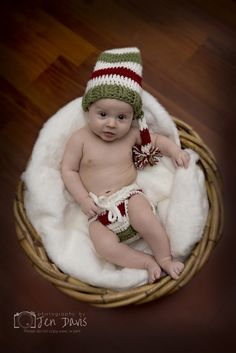 baby holiday poses