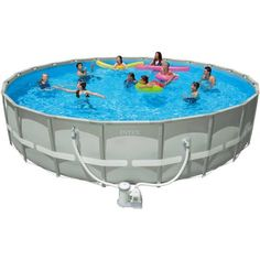 Coleman 22 X52 Power Steel Frame Above Ground Swimming