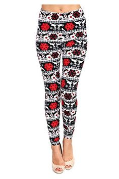 Only your wallet will know these are not LulaRoe Leggings Winter Christmas Printed Leggings.  Viv Collection Women's Seasonal High Quality Printed Leggings for Fall/Winter at Amazon Women's Clothing store: