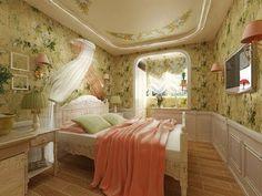 Спальня в стиле прованс для детей и подростков, какую мебель выбрать, примеры с фото и видео