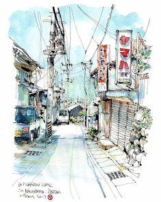 Sketch by B6drawingman China. Скетч в исполнении B6drawingman Китай.  #иллюстрация #живопись #искусство #графика #холст #арт #art #illustration #pencil #artsy #drawing #draw #contemporaryart #水彩画 #akvarell #aquarell #sketch #aquarelle #urban #sketchbook #graphic #pen #ink #timetoart