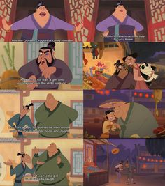 """From Disney's Mulan II... I saw a video called: """"The laugh"""" where the last guy ( ARGH! I forgot his name! )  finds the one girl. OMG it was SO GREAT! I loved it!"""