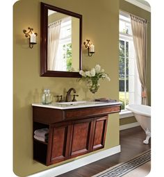 "Fairmont Designs 159-ADW3621 Newhaven 36"" Wall Mount Modern Bathroom Vanity"