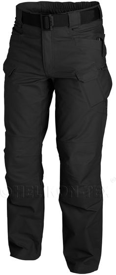 5c15b7dbad4 Helikon UTP Urban Tactical Pants Canvas - Black Main bottom apparel from  Urban Tactical Line®. Designed for Law Enforcement operators