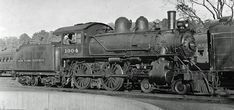 Click this image to show the full-size version. Black N White Images, Black And White, New York Central Railroad, Railroad Pictures, Railroad History, Train Times, Train Engines, Modern Artists, Steam Engine