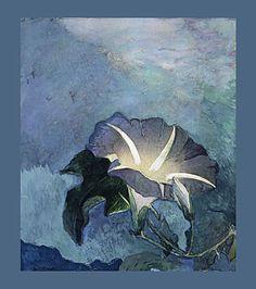 Morning Glory- John La Farge, watercolor