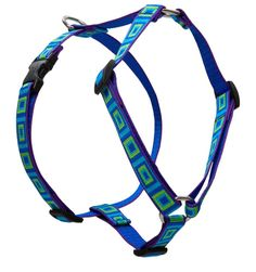 Lupine 3/4 Inch Sea Glass Roman Harness for Small and Medium Dogs * Check out this great image  (This is an amazon affiliate link. I may earn commission from it)