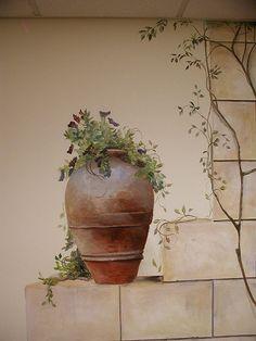 stone-wall-mural-pot  Shelley Grund