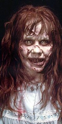 This Exorcist make-up is still some scary stuff even to this day.