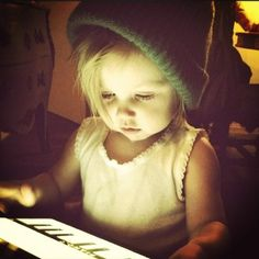 Lux in Harry's beanie... *hyperventilating* This. Is. So. Precious. I. Just. No. Stop. Please. I. Can't. *le dead*